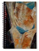 Nude 450608 Spiral Notebook