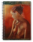 Nude 458755 Spiral Notebook