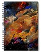 Nude 67 0407 Spiral Notebook