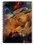 Nude 67 0407 Spiral Notebook