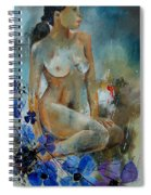 Nude 67 Spiral Notebook
