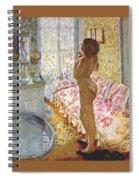 nude against the light 1908 Pierre Bonnard Spiral Notebook