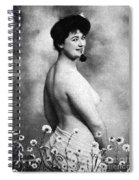 Nude And Flowers, 1903 Spiral Notebook