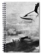 Nude As Mermaid, 1890s Spiral Notebook