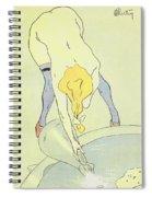 Nude Bathing Spiral Notebook