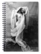Nude, C1900 Spiral Notebook