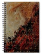 Nude Coming Out Of Abstraction Spiral Notebook