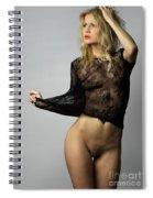 Nude Fashion Spiral Notebook