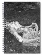Nude In The Park Spiral Notebook