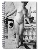 Nude In Venice, 1902 Spiral Notebook