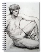 Nude Man Spiral Notebook