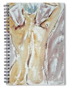 Nude Spiral Notebook