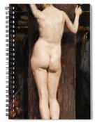 Nude Model Spiral Notebook