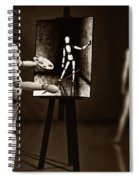 Nude Model  Spiral Notebook