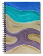 Nude On Beach Spiral Notebook
