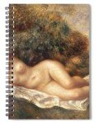 Nude Spiral Notebook