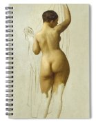 Nude. Queen Rodophe Spiral Notebook