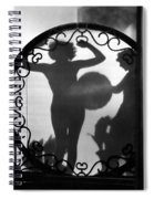 Nude Shadow, 1920s Spiral Notebook