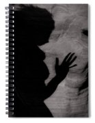 Nude Shadows 7 Spiral Notebook