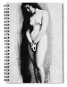 Nude Slave, 1901 Spiral Notebook
