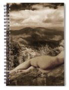 Nude Sunbather Spiral Notebook