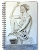 Nude Woman Viii Spiral Notebook