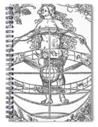 Nude Woman With The Zodiac Spiral Notebook
