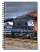 Number 1637 Dash One Spiral Notebook