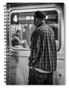 Number 4 Train Spiral Notebook