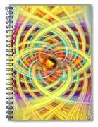Number Four Spiral Notebook