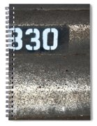 Numbers Spiral Notebook