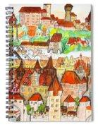 Nuremberg Germany Spiral Notebook