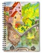 Nuremberg, Hand Drawn Picture Spiral Notebook