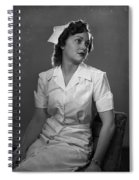 Nurse Rembrandt Lighting Spiral Notebook