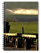 Nursery Wagons Spiral Notebook