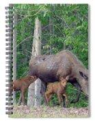 Nursing Moose Spiral Notebook