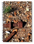 Nuts And Bolts Rusted Spiral Notebook
