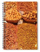 Nuts And Candy Spiral Notebook