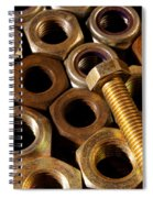 Nuts And Screw Spiral Notebook