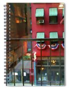 Ny Architecture Paint  Spiral Notebook