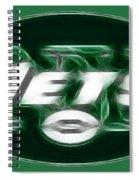 Ny Jets Fantasy Spiral Notebook