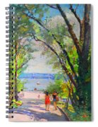 Nyack Park A Beautiful Day For A Walk Spiral Notebook