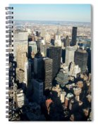Nyc 3 Spiral Notebook