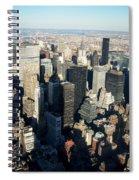 Nyc 3 Spiral Notebook