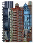 Nyc Architecture Buildings Tall  Spiral Notebook