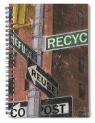 Nyc Broadway 1 Spiral Notebook