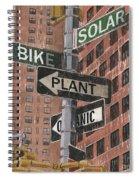 Nyc Broadway 2 Spiral Notebook