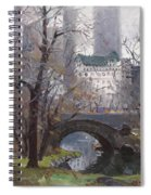 Nyc Central Park Spiral Notebook