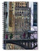 Nyc Crossings Daily Life Children  Spiral Notebook