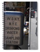 Nyc Drinking Water Spiral Notebook